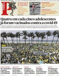 capa Público de 8 setembro 2021