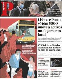 capa Público de 13 setembro 2021