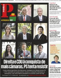 capa Público de 14 setembro 2021