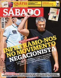capa Revista Sábado de 23 setembro 2021