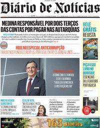 capa Diário de Notícias de 1 outubro 2021
