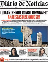 capa Diário de Notícias de 3 outubro 2021