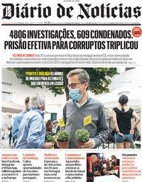 capa Diário de Notícias de 5 outubro 2021