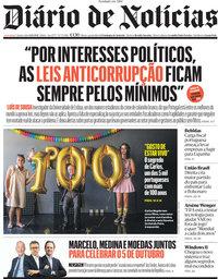 capa Diário de Notícias de 6 outubro 2021