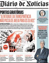 capa Diário de Notícias de 7 outubro 2021