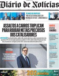 capa Diário de Notícias de 8 outubro 2021
