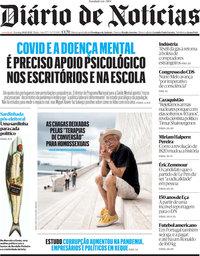 capa Diário de Notícias de 10 outubro 2021