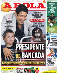 capa Jornal A Bola de 11 outubro 2021