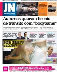 capa Jornal de Notícias de 2 outubro 2021