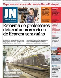 capa Jornal de Notícias de 5 outubro 2021