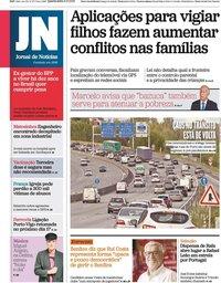 capa Jornal de Notícias de 6 outubro 2021