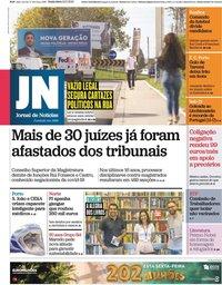 capa Jornal de Notícias de 8 outubro 2021