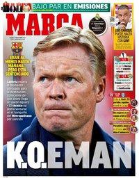 capa Jornal Marca de 1 outubro 2021