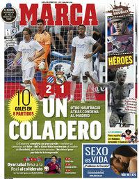 capa Jornal Marca de 4 outubro 2021