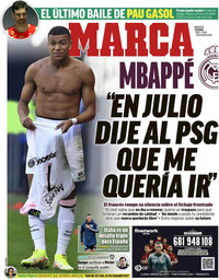capa Jornal Marca de 5 outubro 2021