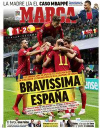 capa Jornal Marca de 7 outubro 2021
