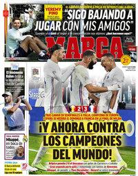 capa Jornal Marca de 8 outubro 2021