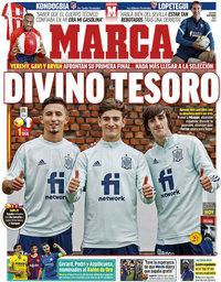 capa Jornal Marca de 9 outubro 2021