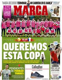 capa Jornal Marca de 10 outubro 2021