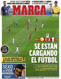 capa Jornal Marca de 11 outubro 2021