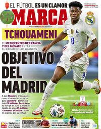 capa Jornal Marca de 12 outubro 2021