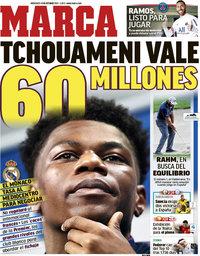 capa Jornal Marca de 13 outubro 2021