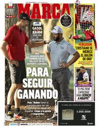 capa Jornal Marca de 14 outubro 2021