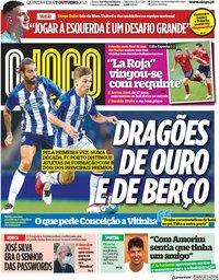 capa Jornal O Jogo de 7 outubro 2021