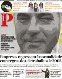 capa Público de 3 outubro 2021