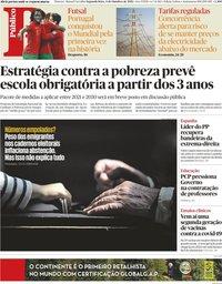 capa Público de 4 outubro 2021