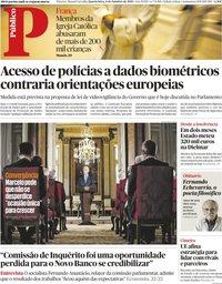 capa Público de 6 outubro 2021