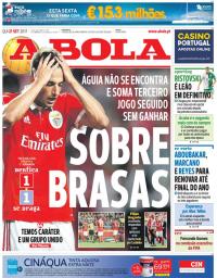 capa Jornal A Bola de 21 setembro 2017