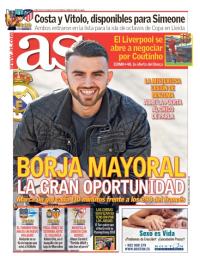capa Jornal As de 3 janeiro 2018