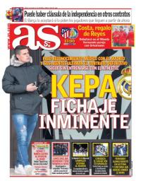 capa Jornal As de 6 janeiro 2018