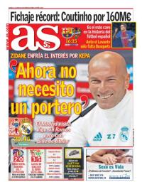 capa Jornal As de 7 janeiro 2018