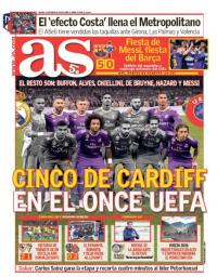 capa Jornal As de 12 janeiro 2018