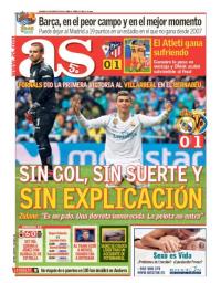 capa Jornal As de 14 janeiro 2018