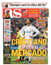 capa Jornal As de 17 janeiro 2018