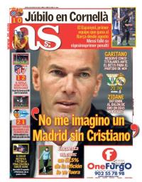 capa Jornal As de 18 janeiro 2018