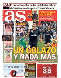 capa Jornal As de 19 janeiro 2018