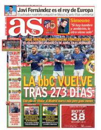 capa Jornal As de 20 janeiro 2018