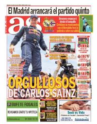 capa Jornal As de 21 janeiro 2018