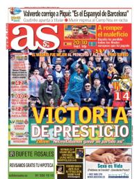 capa Jornal As de 28 janeiro 2018
