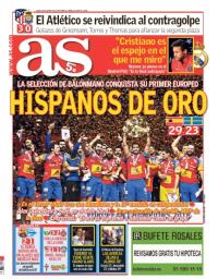 capa Jornal As de 29 janeiro 2018