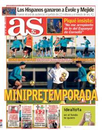 capa Jornal As de 30 janeiro 2018