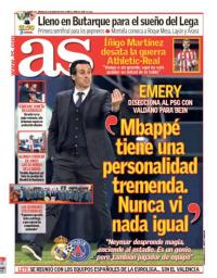 capa Jornal As de 31 janeiro 2018
