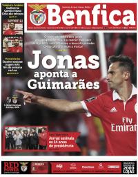 capa Jornal Benfica de 2 novembro 2017