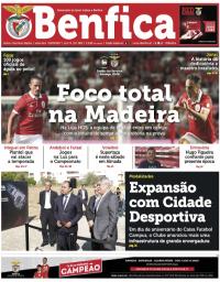 capa Jornal Benfica de 6 outubro 2017