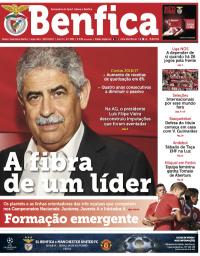 capa Jornal Benfica de 9 outubro 2017