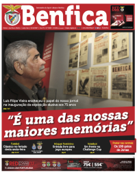 capa Jornal Benfica de 9 dezembro 2017
